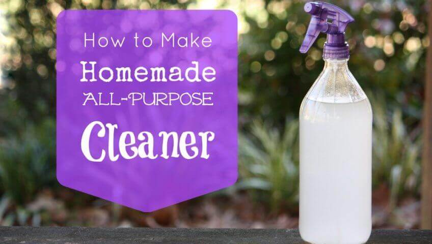Natural Homemade All-Purpose Cleaner