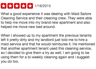 Maid Sailors Recent Reviews