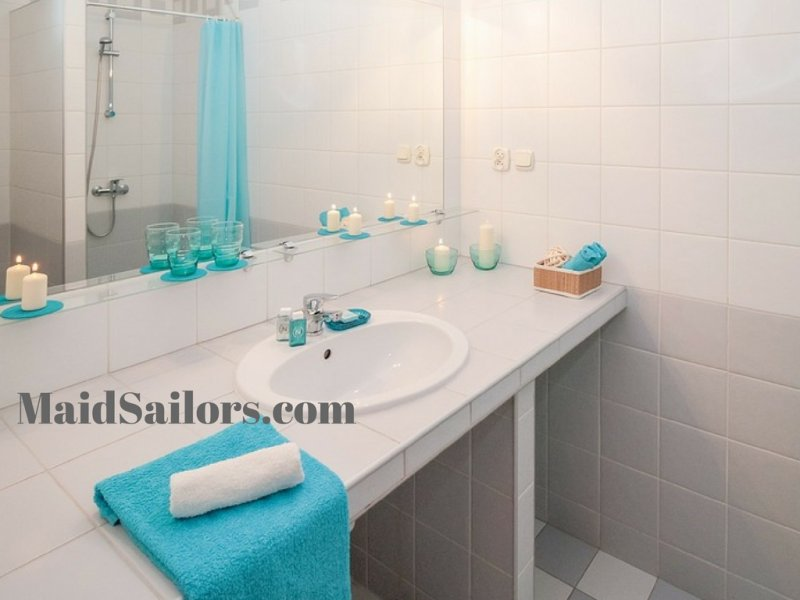 How To Properly Clean A Bathroom Vanity Maid Sailors - Best way to clean your bathroom