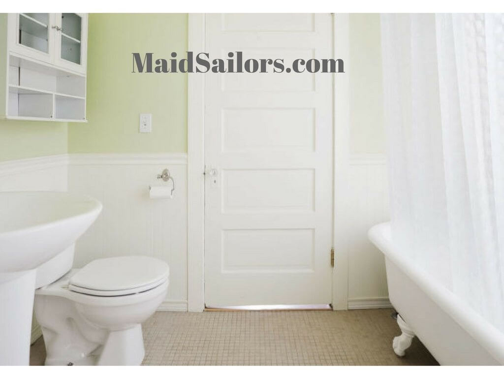 Deep cleaning your bathroom maid sailors for Bathroom deep cleaning