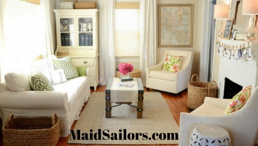 Tips For Efficiently Organizing Small Living Rooms