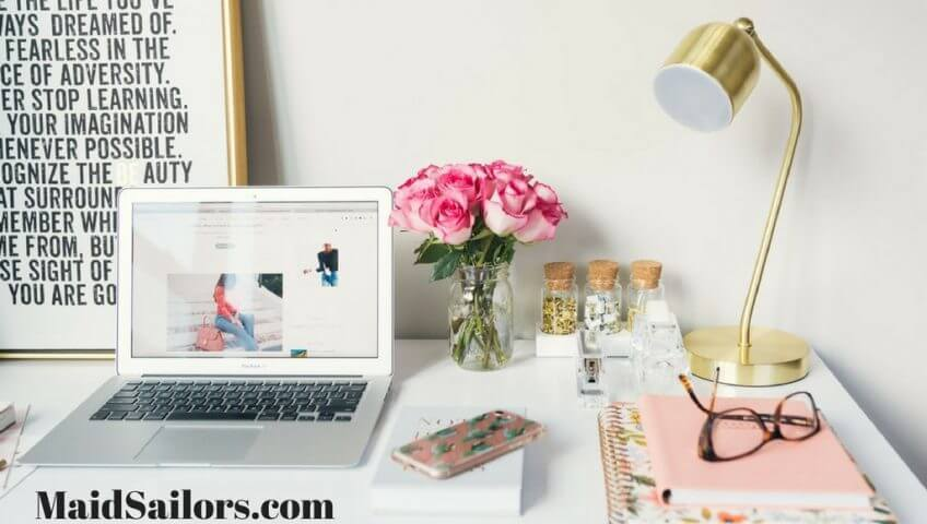 Do it yourself home office updates maid sailors blog maid sailors blog organization do it yourself home office updates solutioingenieria Choice Image