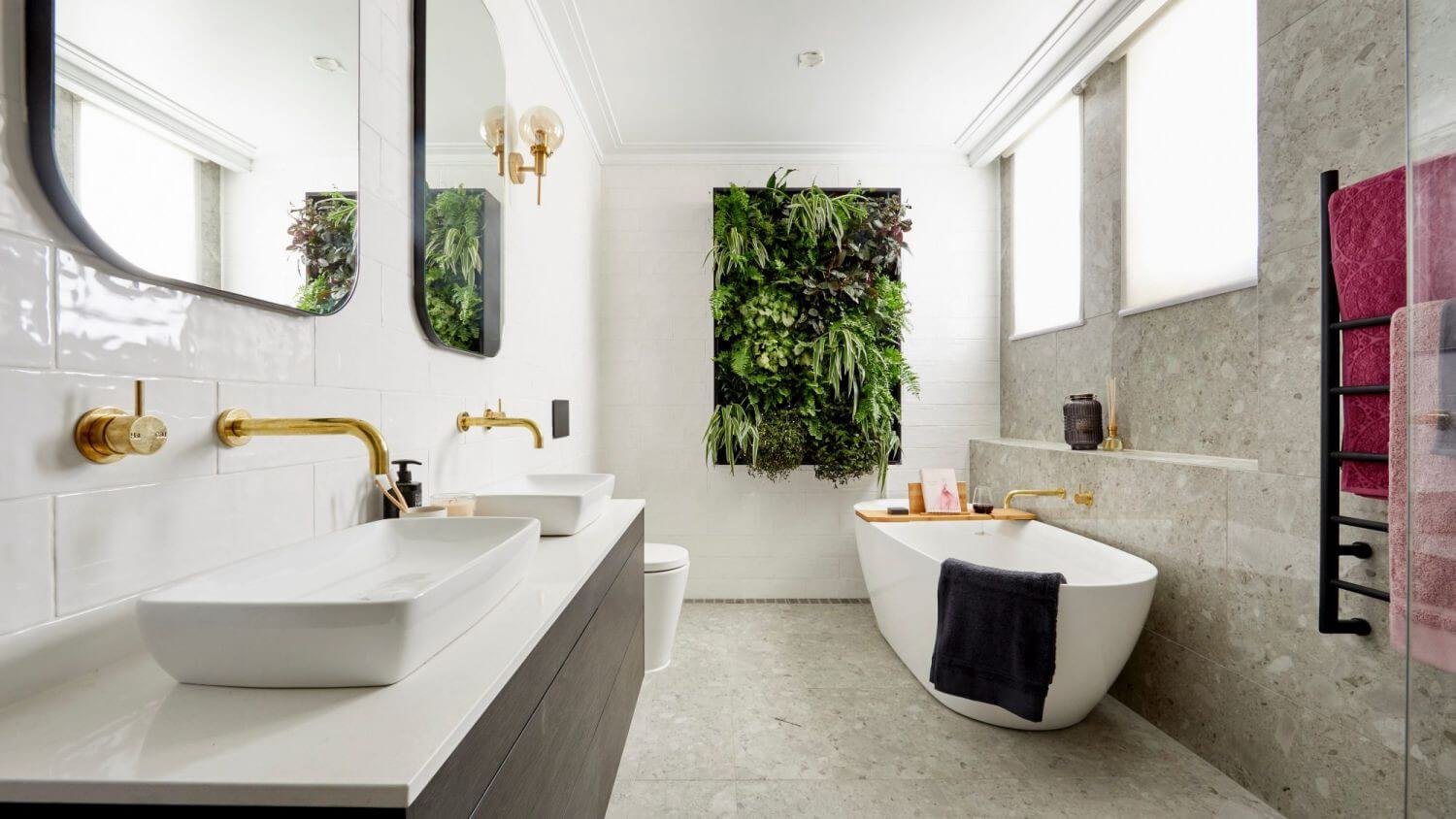 Freshen Up Your Dated Bath With New Bathroom Trends For ... on Small Bathroom Remodel Ideas 2019  id=97589